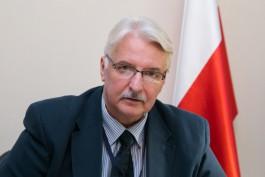МИД Польши: Снятие санкций с России даже не обсуждается