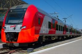 В Калининграде поезд «Ласточка» получил повреждения из-за обрыва контактной линии