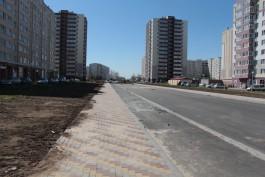 Власти Калининграда пообещали в августе пустить автобусы на улицу Флотскую