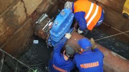 Специалисты «Водоканала» устанавливают новое оборудование на водоводах в Московском районе Калининграда