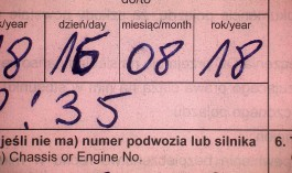 Калининградец получил штраф и условный срок за исправление даты в страховке на границе с Польшей