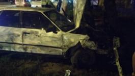 На ул. Горького в Калининграде «Ауди» протаранила «Ситроен» и врезалась в дерево