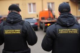 Приставы арестовали шесть автомобилей у должников в Калининградской области