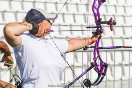Калининградская лучница выиграла золотую медаль Европейских игр
