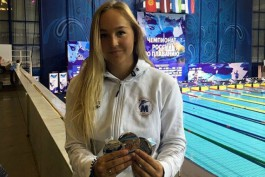 Анна Егорова из Калининграда стала пятой на чемпионате мира по плаванию на дистанции 400 метров кролем