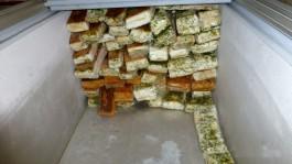 Житель Калининградской области пытался привезти из Польши 500 кг санкционного сала