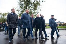 «Чтобы было как у немцев»: как Ярошук набережную Нижнего озера инспектировал