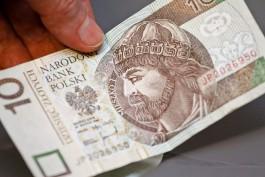 Польский злотый назвали самой дешёвой валютой в мире