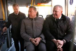 Ярошук отправит ответственных за маршрутную сеть чиновников кататься на автобусах