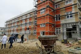 Строительство нового корпуса детской больницы в Калининграде планируют закончить в мае-июне