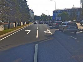 В Калининграде реконструировали перекрёсток улицы Гайдара и Советского проспекта