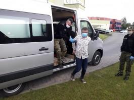 В Безледах задержали велосипедиста из Калининграда, который пытался сбежать в Евросоюз