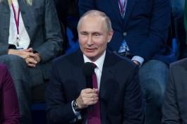 Путин признался, что доволен своей профессией