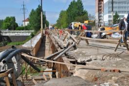 Мост на ул. Суворова в Калининграде откроют только с одним тротуаром