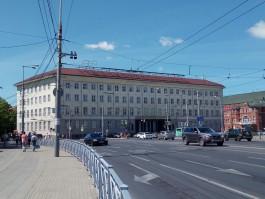 В Калининграде сняли рекламу Сбербанка со здания КГТУ