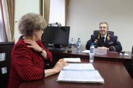 Главный инспектор МВД десять часов принимал жалобы калининградцев