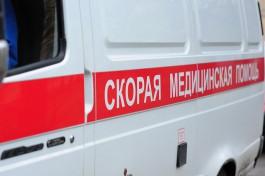 В Нестеровском округе «Мерседес» съехал в кювет и перевернулся
