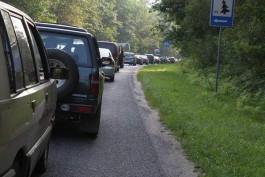 Власти хотят установить систему автоматического пропуска на Куршскую косу, чтобы сократить пробки