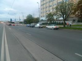 В Калининграде столкнулись четыре машины: пострадал полуторагодовалый ребёнок
