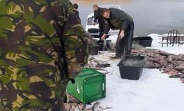 В Калининградском заливе бойцы СОБР задержали браконьеров с 400 кг рыбы