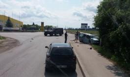 В Литве военный Hummer НАТО устроил ДТП с тремя пострадавшими