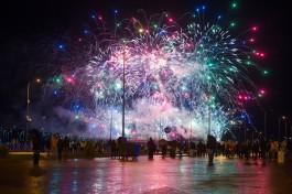 «Прощальный залп»: в Калининграде завершился мировой чемпионат фейерверков