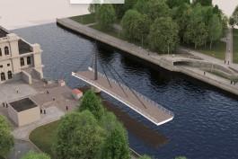 В Калининграде объявили конкурс на разработку проекта моста от бывшего ДКМ на остров Канта