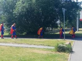 В Калининград приехали испанские болельщики