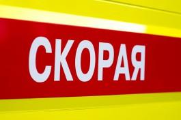 На улице Интернациональной в Калининграде пьяный водитель сбил двух пешеходов на тротуаре