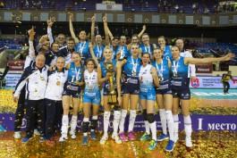 В Калининграде завершился розыгрыш Кубка России по волейболу среди женщин
