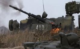 Военные Балтфлота провели ночные стрельбы на полигоне в Калининградской области