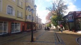 На Курортном проспекте в Зеленоградске устанавливают освещение