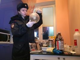 В Калининграде полицейские обнаружили лабораторию по производству амфетамина
