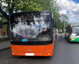 В центре Калининграда в автобусе пострадала пенсионерка