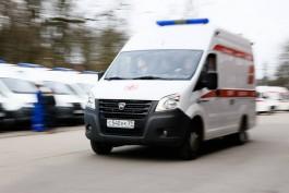 У попавшей в ДТП на улице Горького девочки диагностировали черепно-мозговую травму и перелом