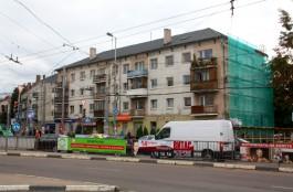 В Калининграде приступили к ремонту домов на Ленинском проспекте по проекту студии Сарница