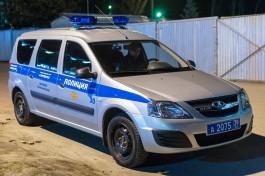 На улице Римской в Калининграде обстреляли автомобиль