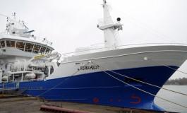 Камчатским рыбакам передали траулер «Командор», построенный в Калининграде