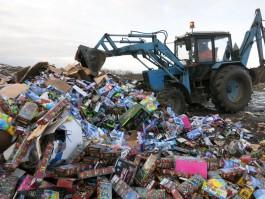 На полигоне под Калининградом уничтожили 9,5 тысяч детских игрушек