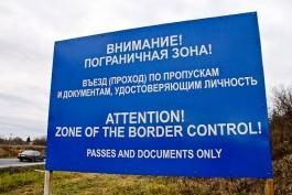 В Калининградской области вдоль границы с Польшей установили новые полимерные знаки