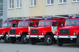 «Красные ГАЗы»: в Калининградской области закупили технику для тушения лесных пожаров