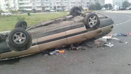 В Светлом «Ауди» врезалась в бордюр и перевернулась: погиб 21-летний водитель