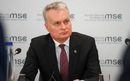 Президент Литвы: Без помощи США и союзников мы не могли бы эффективно сдерживать Россию