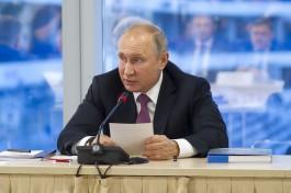 Путин назвал моральными уродами людей, выступающих против поддержки семей с детьми