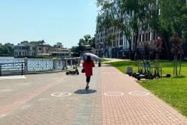 МЧС: Период аномально жаркой погоды в Калининградской области прекратился