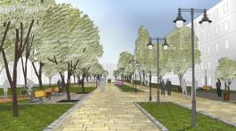 Депутаты Горсовета попросили Алиханова благоустроить пешеходную зону на улице Соммера