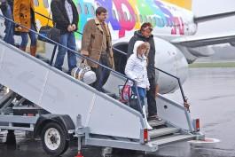 За восемь месяцев пассажиропоток аэропорта «Храброво» на международных линиях упал на 63%