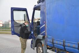 Польские пограничники задержали в Безледах пьяного водителя грузовика из Калининграда