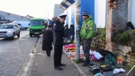 В Калининграде оштрафовали 13 торговцев на улице Баранова