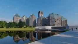 «Имитация естественного развития»: каким будет новый центр Калининграда без Дома Советов